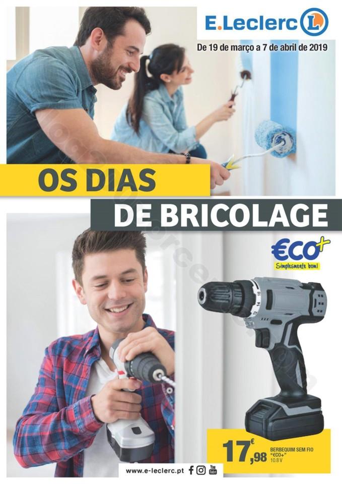 Antevisão Folheto E-LECLERC Promoções de 19 ama