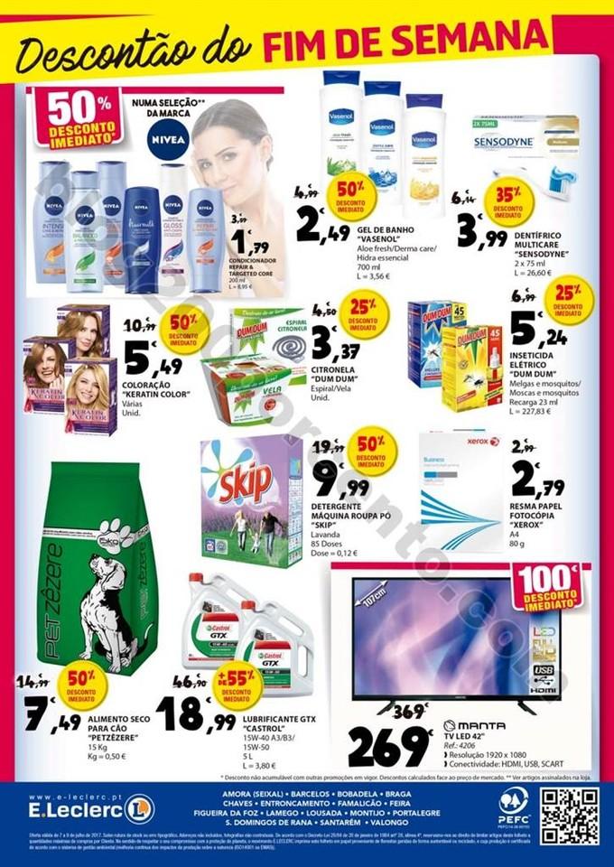 Antevisão Folheto E-LECLERC Fim de semana promoç