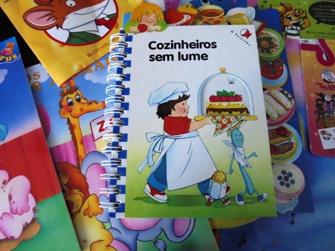 Livro infantil de cozinha
