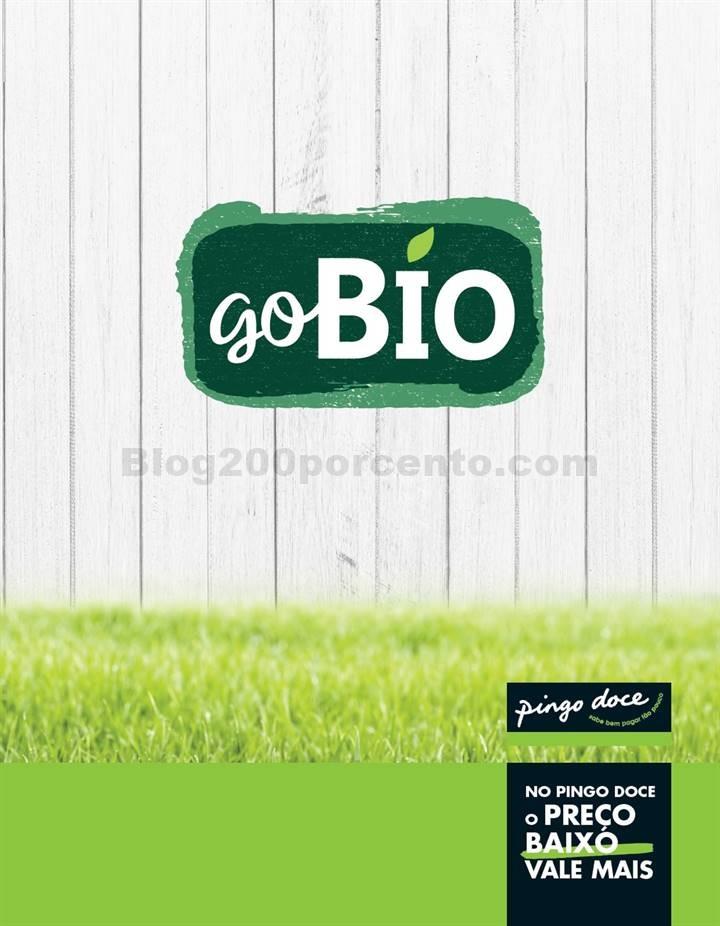 Antevisão Folheto PINGO DOCE Go Bio Promoções a