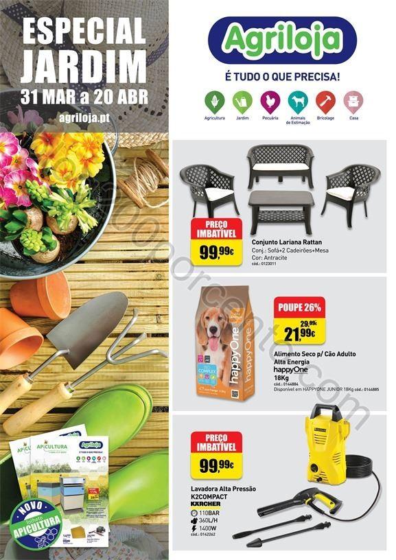 Antevisão Folheto AGRILOJA Jardim promoções de