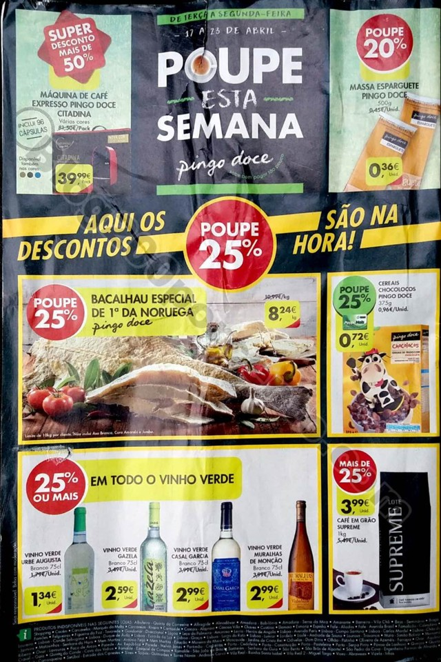 antevisão folheto promoções Pingo Doce 17a23abr