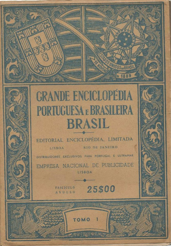 Grande Eciclopédia Portuguesa e Brasileira (Fascículo in Mercado Livre)