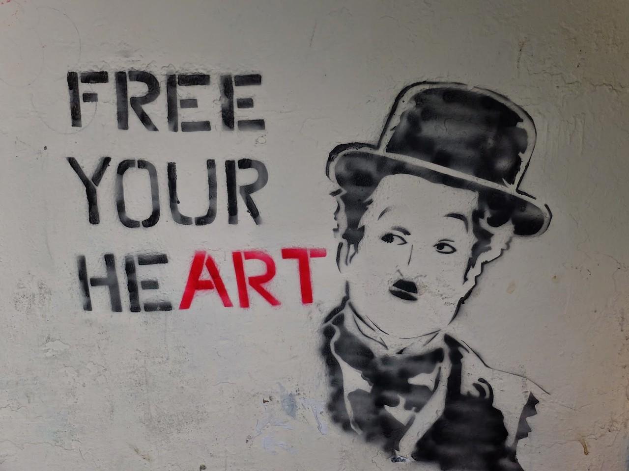 Free Your Heart - Chaplin Stencil.JPG