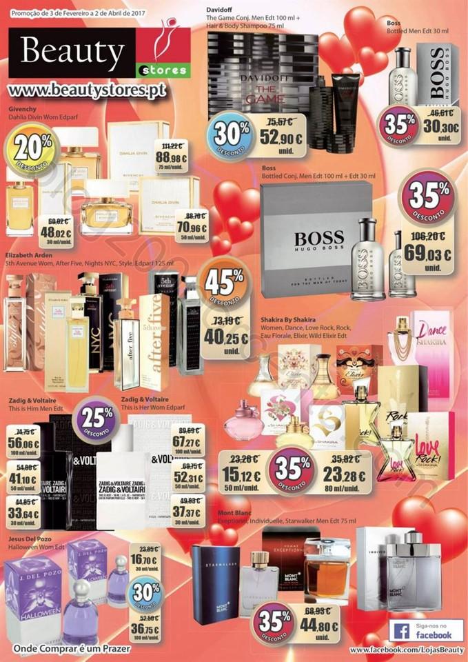 Antevisão Folheto BEAUTY STORES Perfumaria de 3 f
