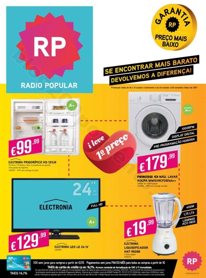 Antevisão Folheto RADIO POPULAR Promoções de 18