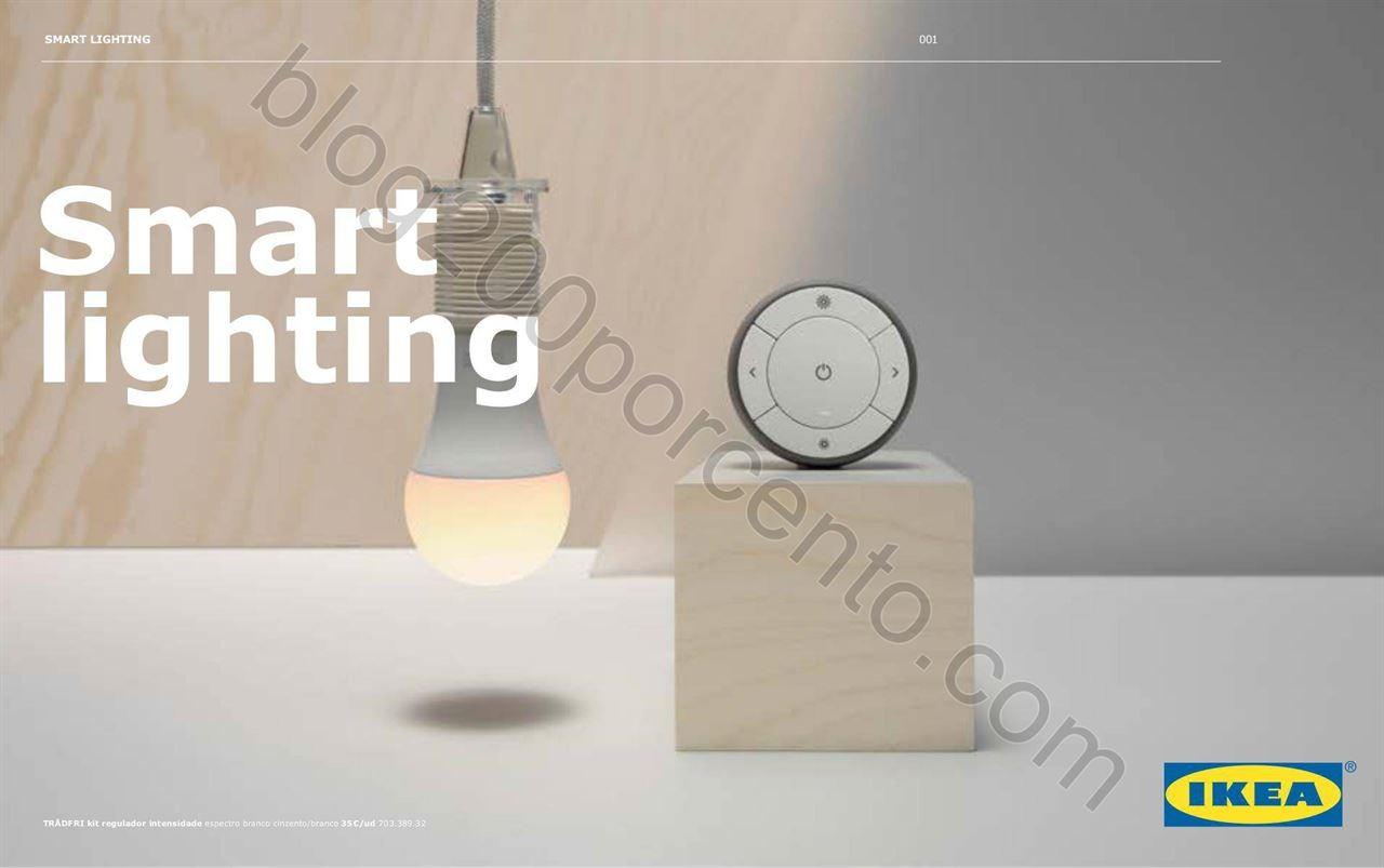 Antevisão Folheto IKEA Smart Lighting promoções