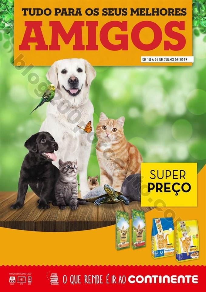 Novo Folheto CONTINENTE Pets promoções de 18 a 2