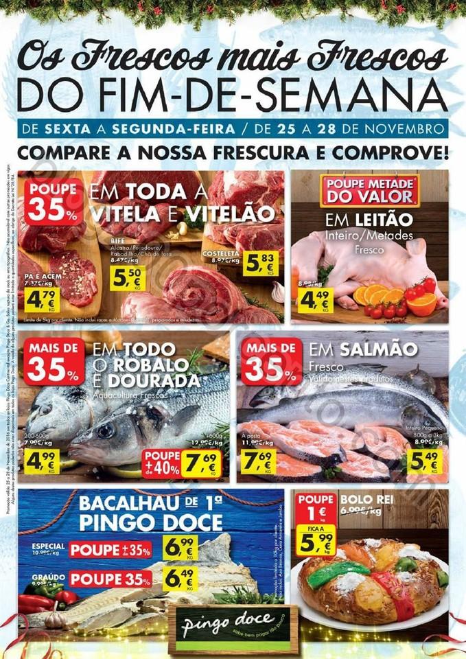 Antevisão Folheto PINGO DOCE Fim de semana de 25