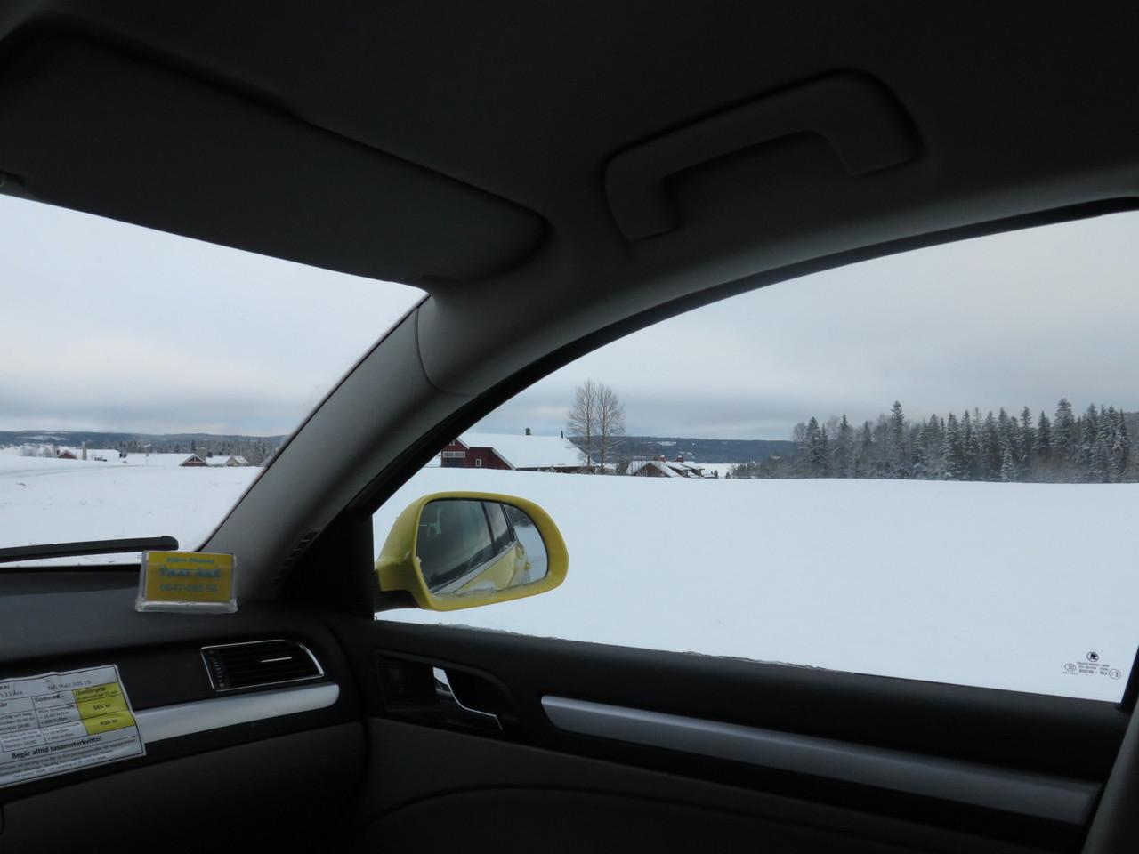 A chegada à aldeia chamada Fäviken