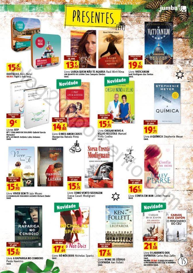 Antevisão Folheto JUMBO Promoções de 9 a 24 dez