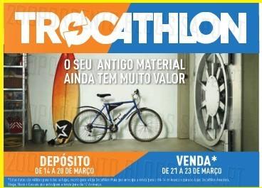 Novo Trocathlon | DECATHLON | de 21 a 23 março
