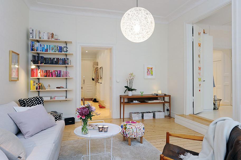 Pequenos Toques e Retoques Apartamento confortável e funcional