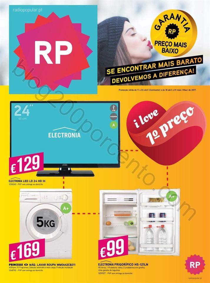 Novo Folheto RADIO POPULAR Promoções de 11 a 24