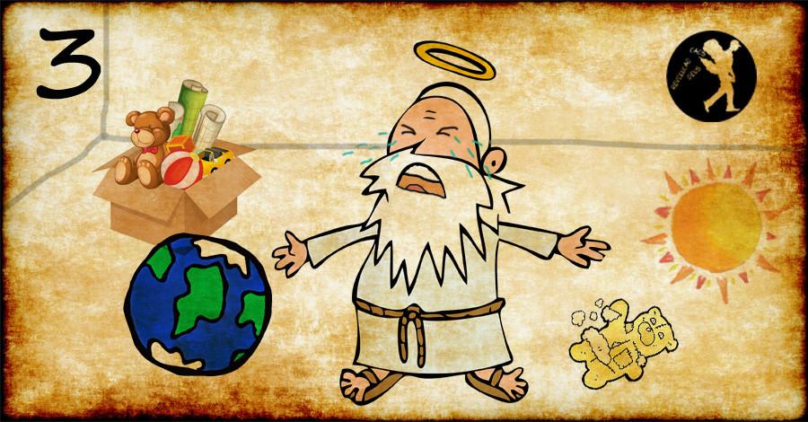 Deus é um puto mimado 3