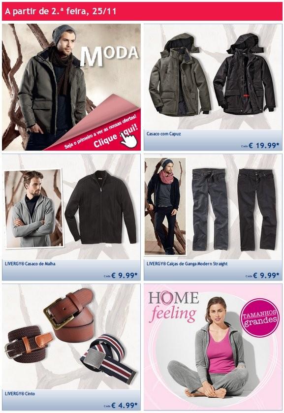 Promoções | LIDL | a partir de 25 Novembro - Vestuário
