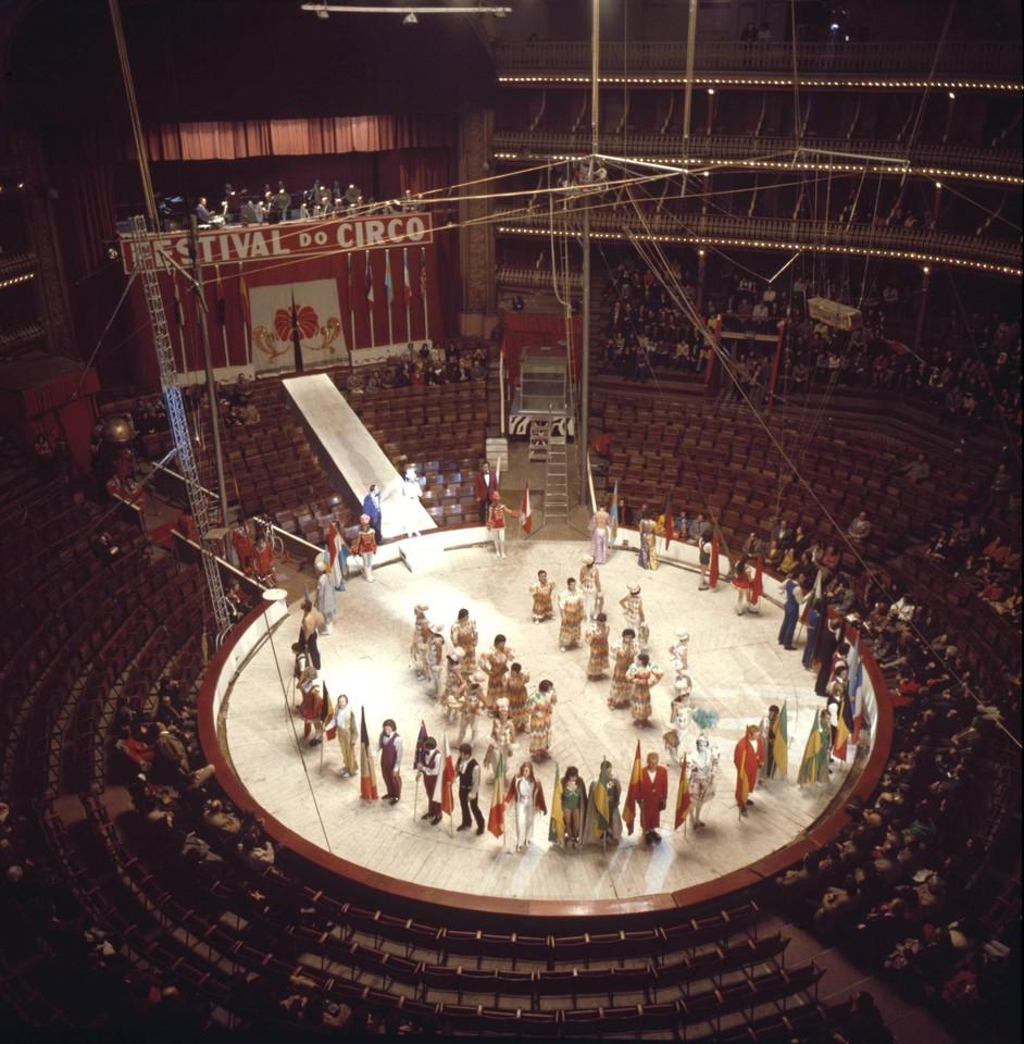 Festival de circo, Coliseu de Lisboa (A. Pastor, 1973)