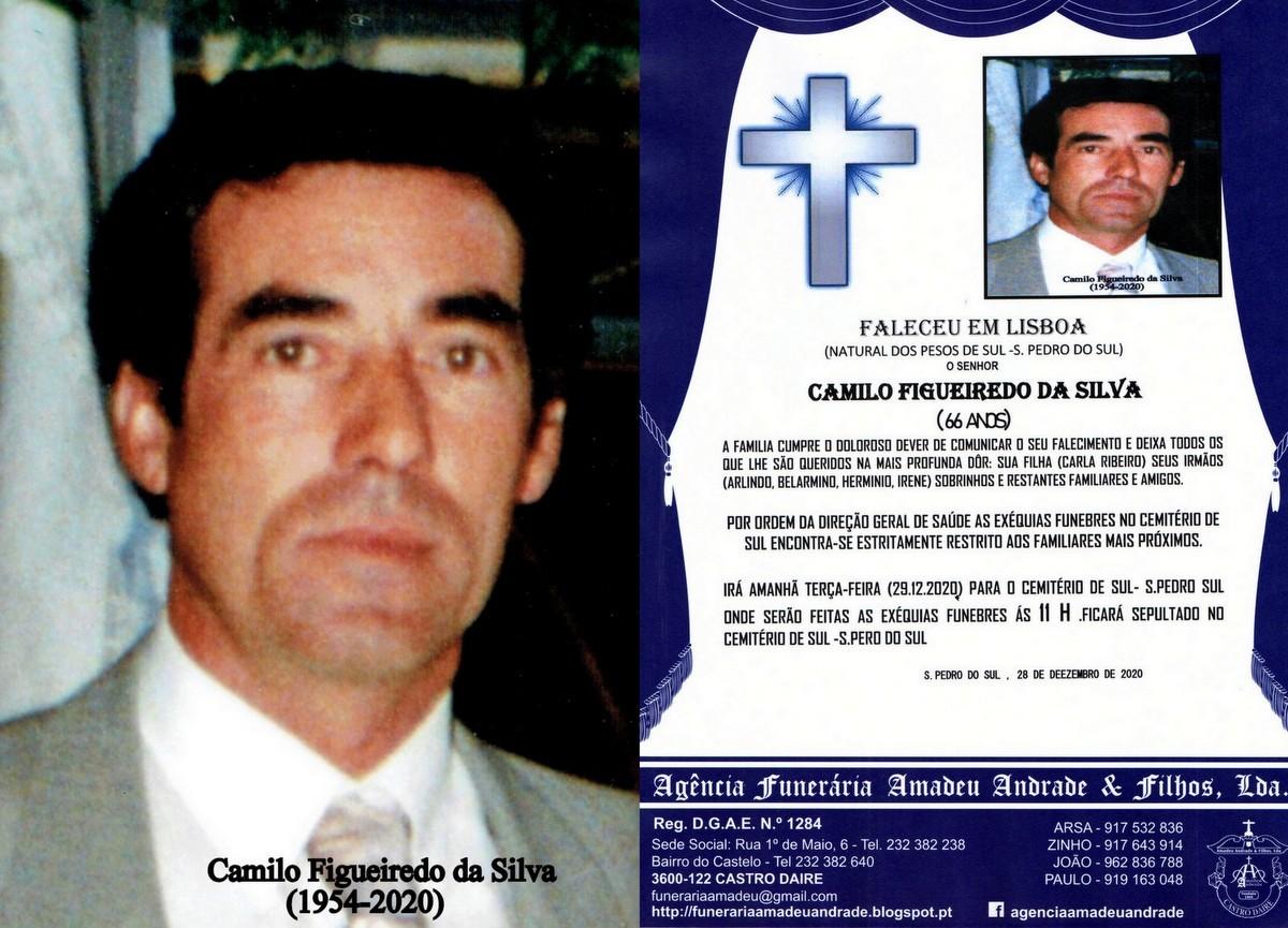 foto RIP de camilo figueiredo da Silva(1954-2020).