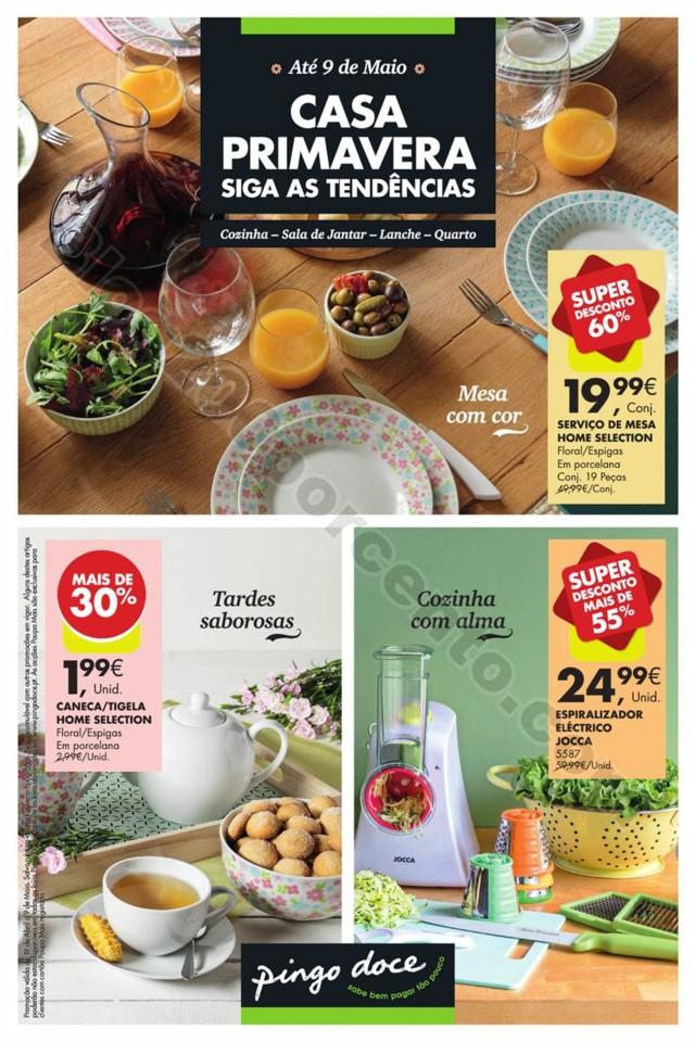 Antevisão Folheto PINGO DOCE Bazar Primavera 19 a