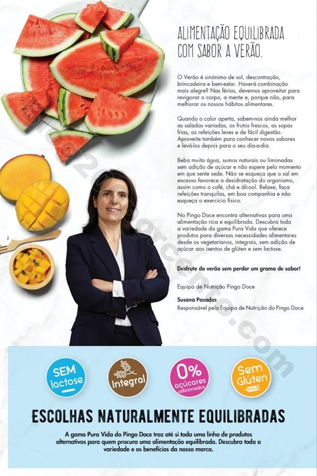 Antevisão Folheto PINGO DOCE Alimentação Saudá