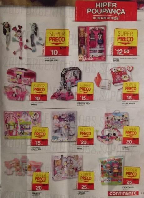 Novo Folheto | CONTINENTE | Brinquedos de 3 a 9 dezembro