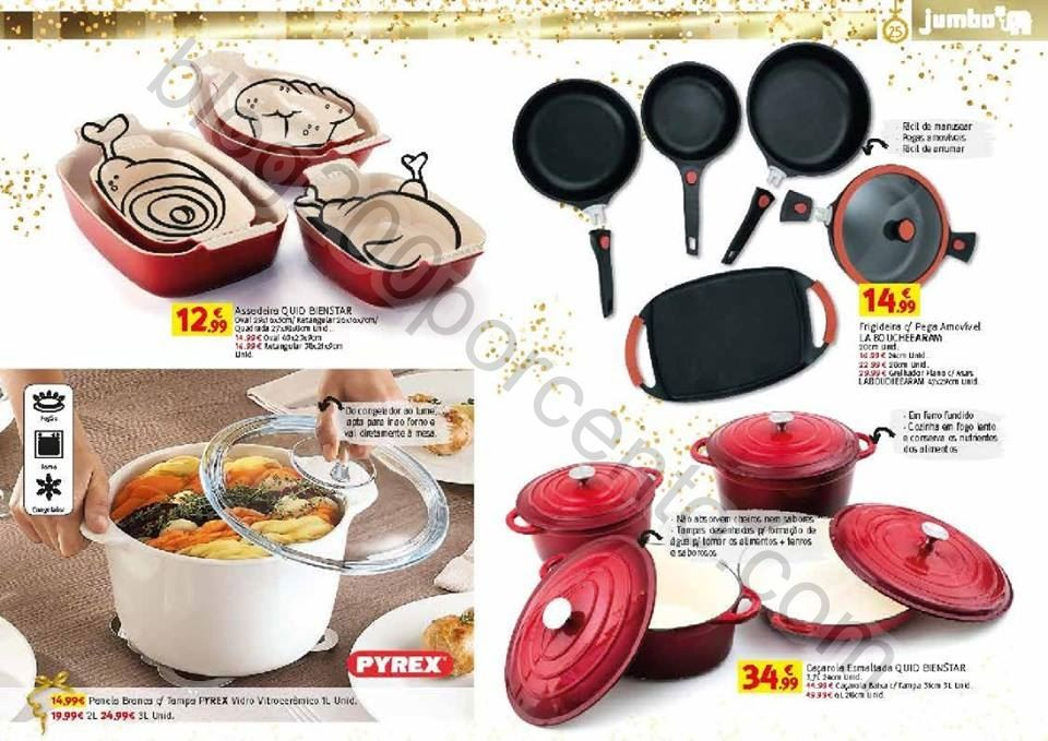 Novo Folheto JUMBO Catálogo Gourmet promoções d