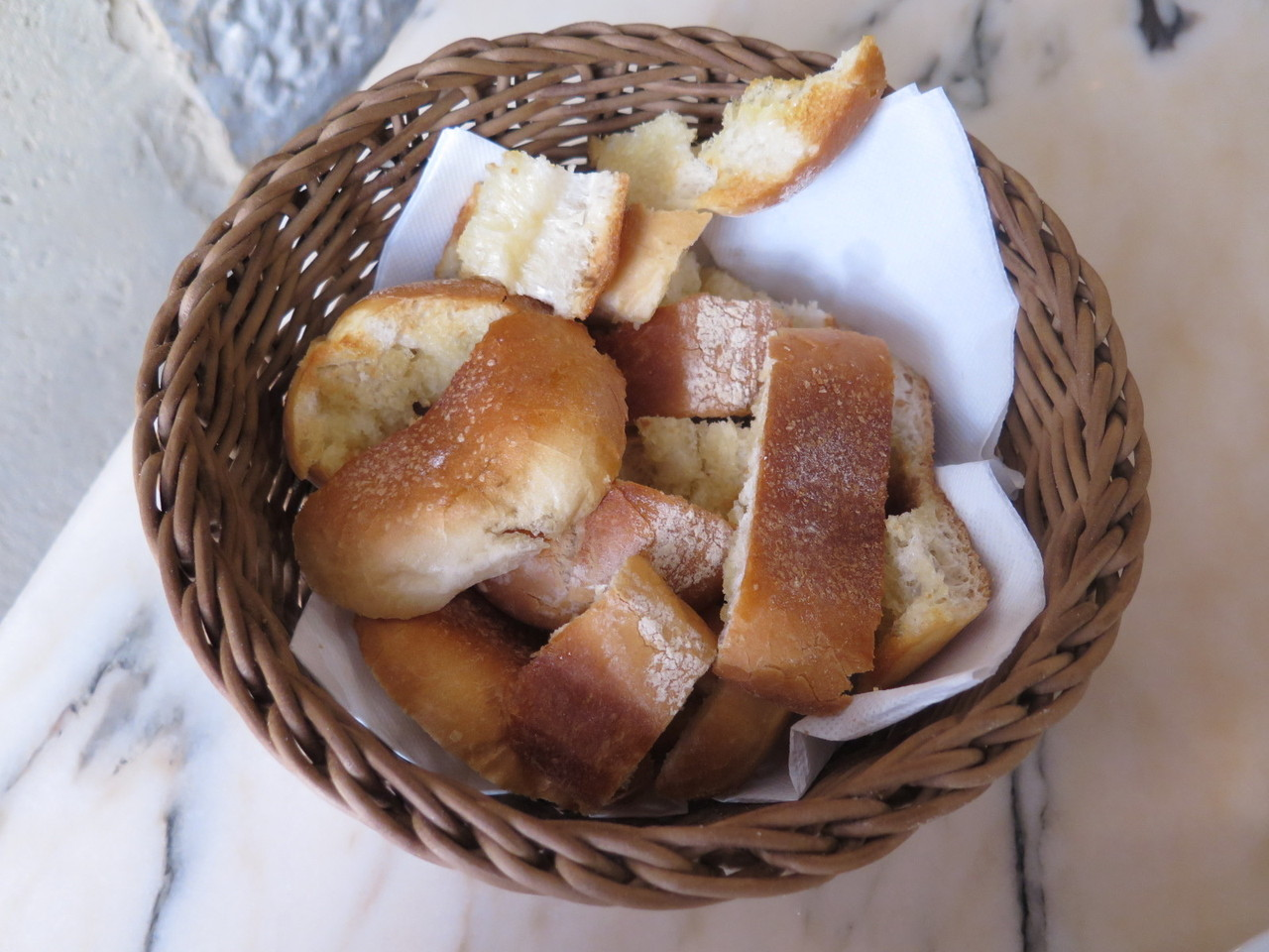 Pão torrado