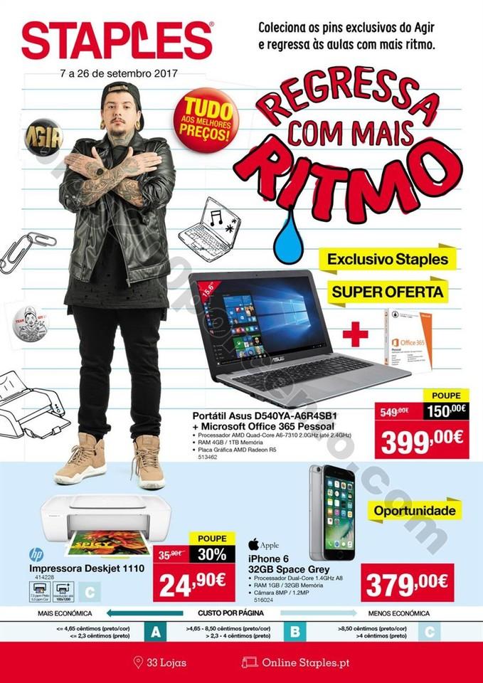 01 antevisão Folheto STAPLES Tecnologia 7 a 26 se