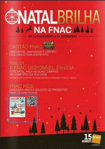 Catalogo de Natal | FNAC | até 31 dezembro