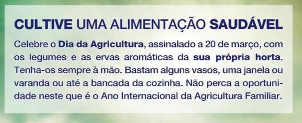 Dia da Agricultura 20 de Março