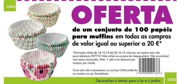 Oferta | CASA | em compras superiores a 20€
