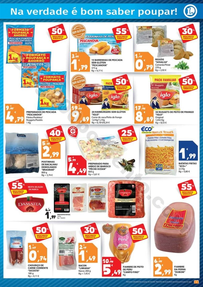 Folheto Extra E-LECLERC Cabazes promoções de 6 a