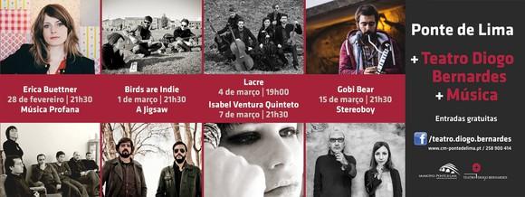 Outdoor Concertos - Fevereiro-Março de 2014