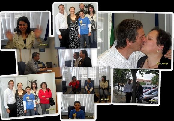 Frederico Freitas e Rosa Silva