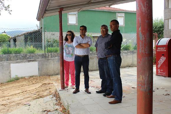visita à obra da EB1 de Venade (2)