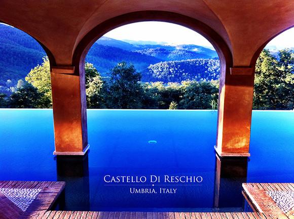 Castello Di Reschio, Umbria, Italy1