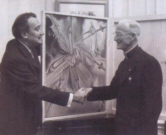 Dali and Colgan at  the St_Regis
