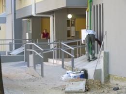 Obras no edificado do IHRU - pormenor das acessibilidades