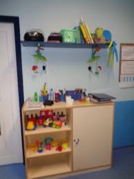 Onde temos alguns dos nossos brinquedos.