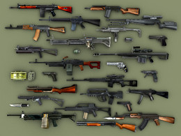 Armas de fogo a venda