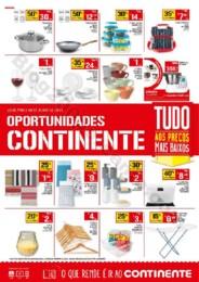 Antevisão Folheto CONTINENTE Oportunidades Madeir