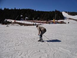 A esquiar em Les Angles