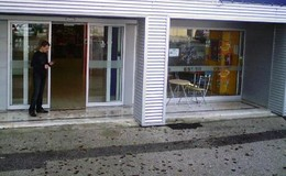Entrado do Café do Ivo