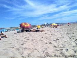 tarde de praia