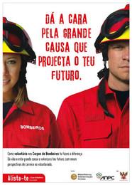 Campanha de apoio ao voluntariado e protecção aos fogos florestais