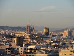 Vista de Barcelona a partir de Montjuic