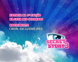 """Regresso do canal exclusivo """"Secret Story – Casa dos Segredos"""""""