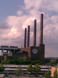 na sede da VW