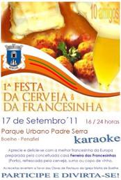Apoio à 1ª Festa da Francesinha em Boelhe