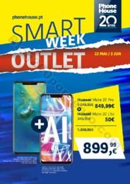 Phone House - Folheto Smart Week Outlet 22-5 a 2-6